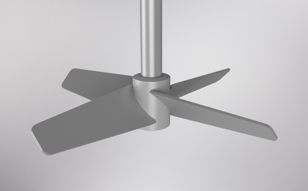 Pitched Blade Turbine