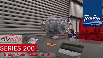 Pneumatic IBC Mixer